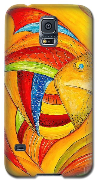 Fish 428-08-13 Marucii Galaxy S5 Case