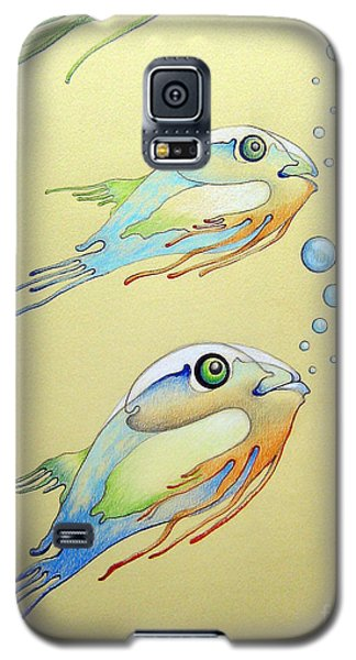 Fish Galaxy S5 Case