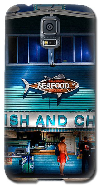 Fish And Chips Galaxy S5 Case
