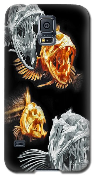 Fish Bones Galaxy S5 Case by Gregory Dyer