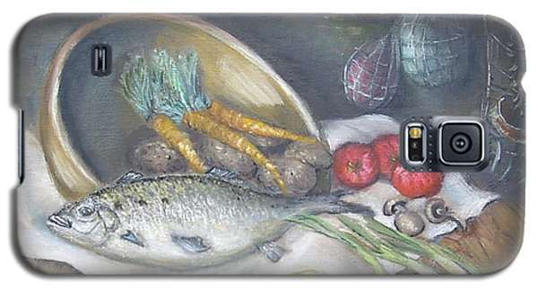 Fish For Dinner Galaxy S5 Case by Luczay