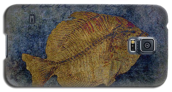Fish Fossil Galaxy S5 Case