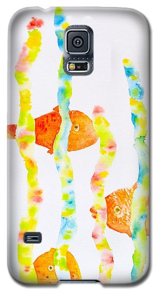 Fish Fun Galaxy S5 Case by Michele Myers