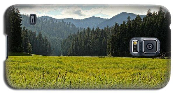 Fish Lake - Open Field Galaxy S5 Case by Laddie Halupa