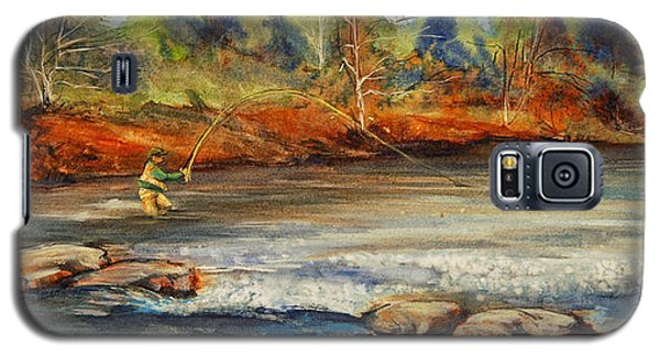 Fish On 2 Galaxy S5 Case by Jani Freimann