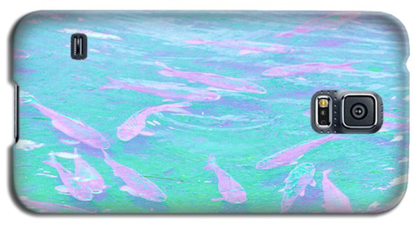 Galaxy S5 Case featuring the photograph Fish by Rachel Mirror