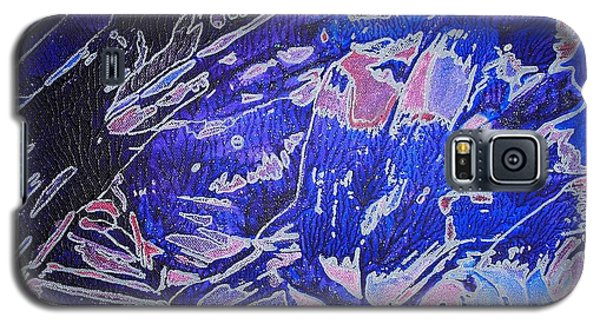 Fish Shoal Abstract Galaxy S5 Case
