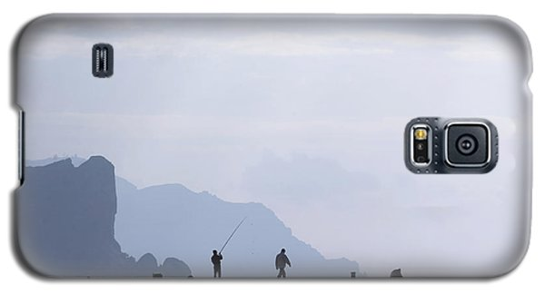 Fisherman At The Pier Galaxy S5 Case