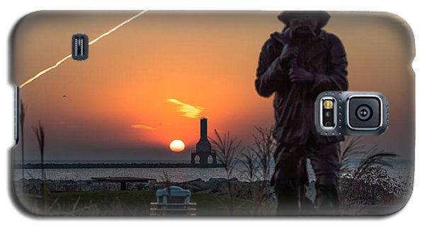 Fisherman Sunrise Galaxy S5 Case