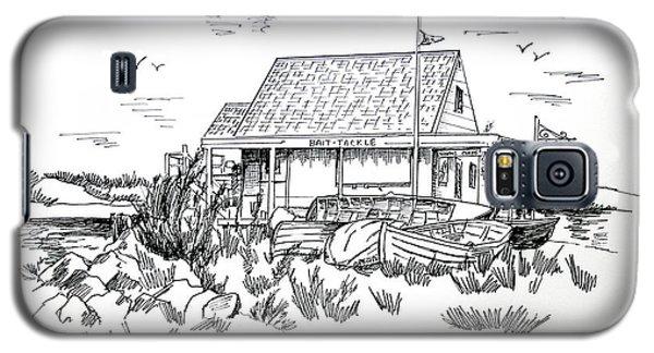 Fisherman's Cove Manasquan Nj Galaxy S5 Case by Melinda Saminski