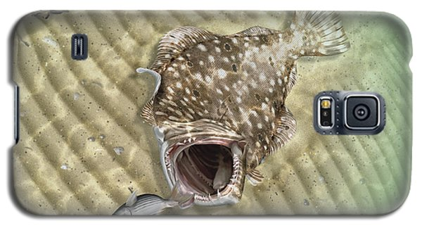 Fisherman's Post Flounder Galaxy S5 Case