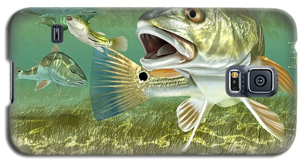 Fisherman's Post Redfish Galaxy S5 Case