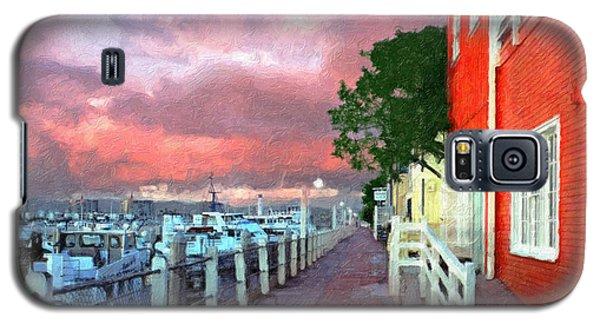 Galaxy S5 Case featuring the photograph Fisherman's Village Marina Del Mar Ca by David Zanzinger