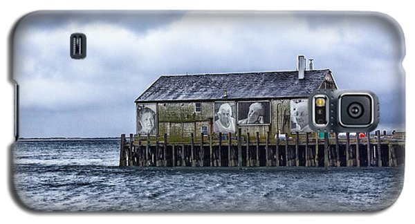 Galaxy S5 Case featuring the photograph Fishermans Wharf Provincetown Harbor by Constantine Gregory