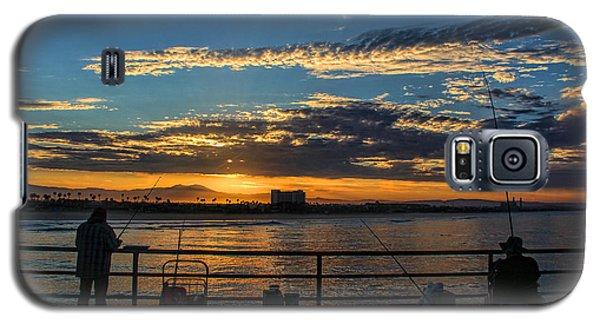 Fishermen Morning Galaxy S5 Case by Tammy Espino