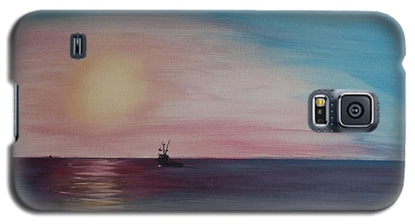 Fishing Alone At Night Galaxy S5 Case by Ian Donley