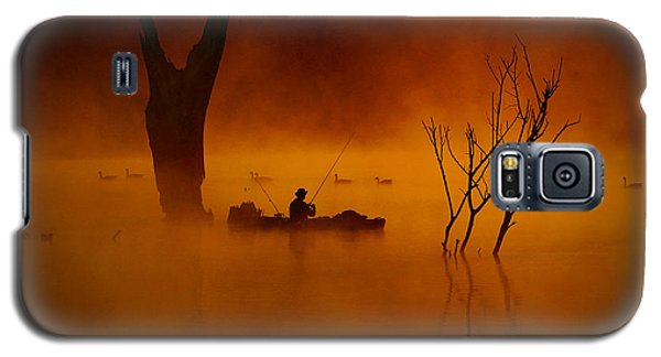 Fishing Among Nature Galaxy S5 Case by Elizabeth Winter