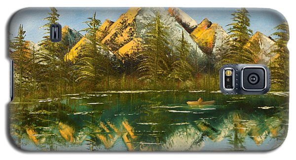 Fishing At Dusk Galaxy S5 Case