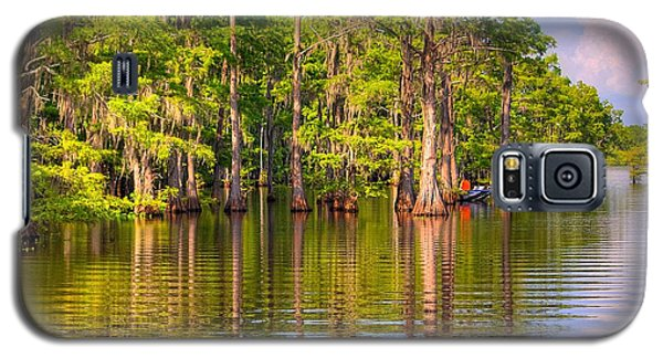 Fishing At The Bayou Galaxy S5 Case by Ester  Rogers