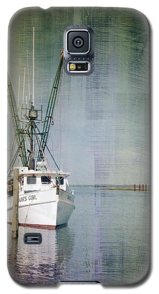 Fishing Boat In Chincoteague Galaxy S5 Case
