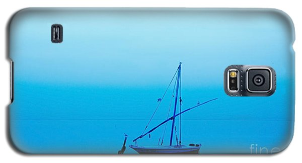Galaxy S5 Case featuring the photograph Fishing Boat  by Mohamed Elkhamisy