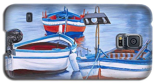 Fishing Boat Trio Galaxy S5 Case