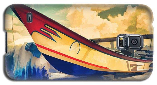 Fishing Boat Galaxy S5 Case by Yew Kwang