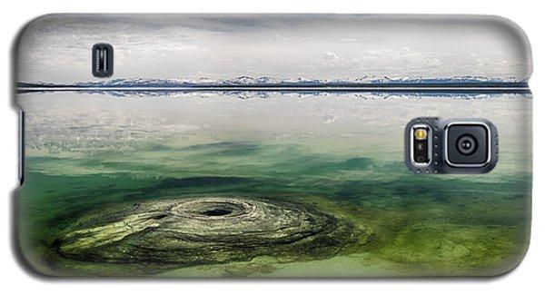Fishing Cone Geyser Galaxy S5 Case by Juergen Klust