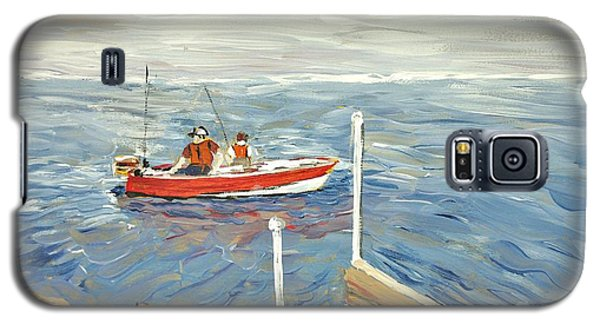 Fishing Day On Georgian Bay Galaxy S5 Case