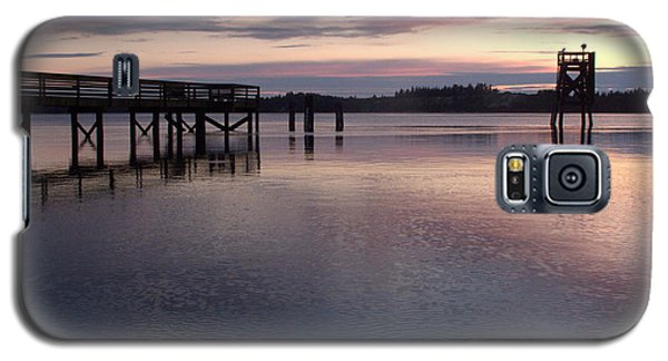 Fishing Dock Pastel Galaxy S5 Case