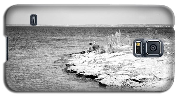 Galaxy S5 Case featuring the photograph Fishing by Erika Weber
