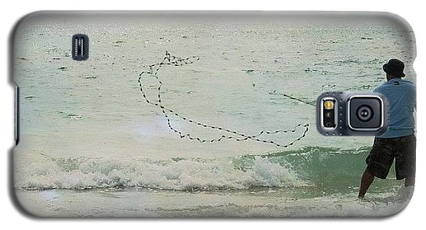 Beautiful Galaxy S5 Case - #fishing #florida #clearwaterbeach by Georgia Fowler