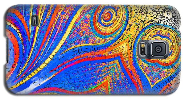 Fishing For Colours Galaxy S5 Case by Alec Drake