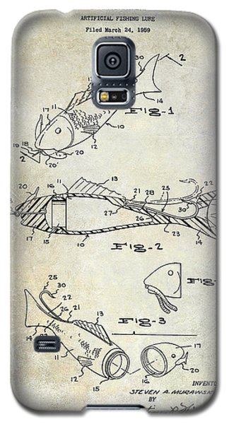 Fishing Lure Patent 1959 Galaxy S5 Case