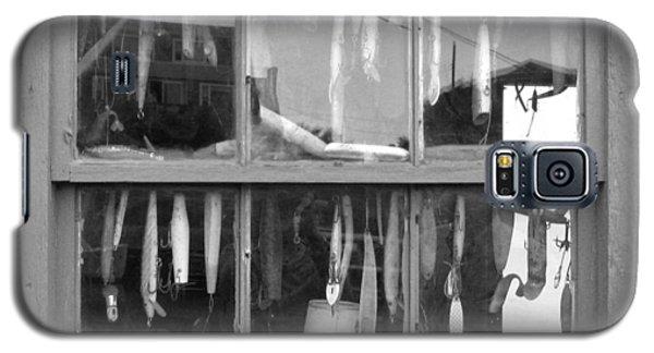 Fishing Lures In Window Galaxy S5 Case by Patricia Januszkiewicz