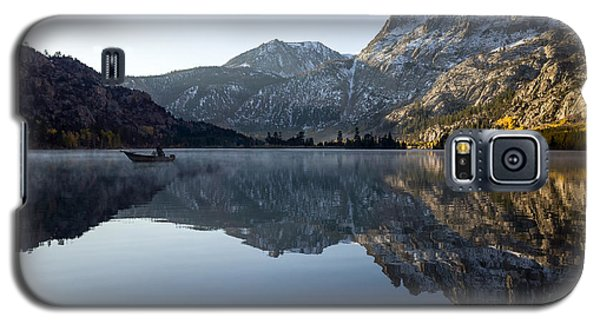 Fishing On Silver Lake  Galaxy S5 Case