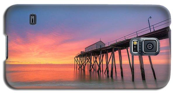 Fishing Pier Sunrise Galaxy S5 Case