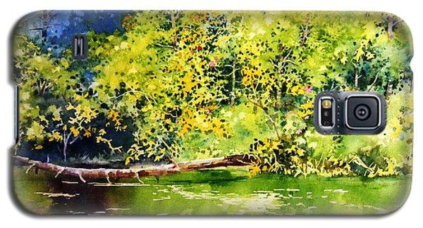Fishing Pond Galaxy S5 Case