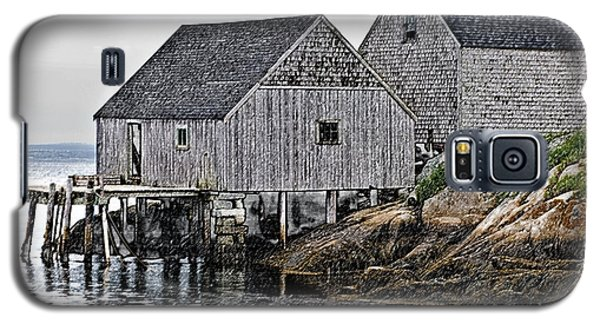 Fishing Sheds At Peggy's Cove Galaxy S5 Case