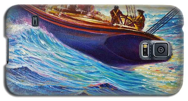 Fishing The Grand Banks Galaxy S5 Case