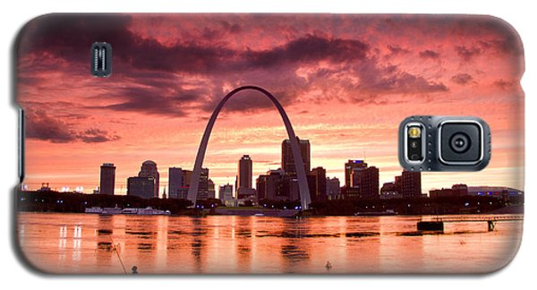 Fishing The Mississippi In St Louis Galaxy S5 Case