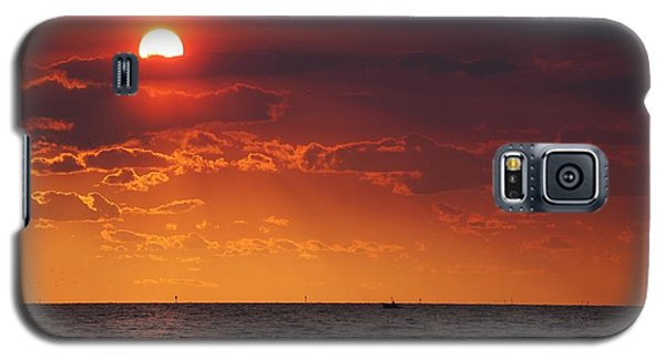 Fishing Till The Sun Goes Down Galaxy S5 Case