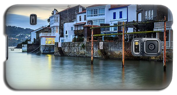 Fishing Town Of Redes Galicia Spain Galaxy S5 Case