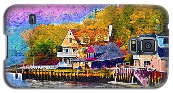 Fishing Village Galaxy S5 Case by Kirt Tisdale