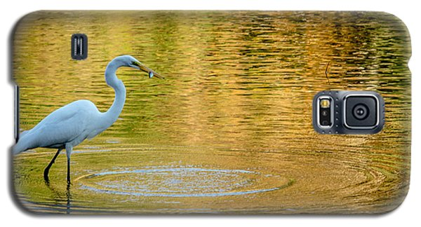 Galaxy S5 Case featuring the photograph Fishing by Wade Brooks