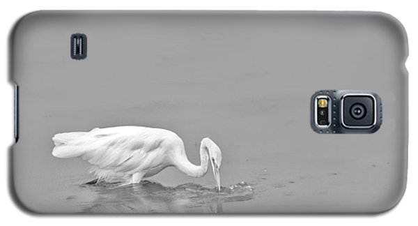 Fishing White Egret Galaxy S5 Case