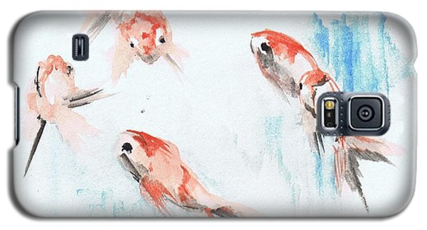 Five Goldfish Galaxy S5 Case