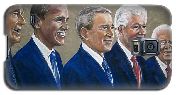 Five Living Presidents 2009 Galaxy S5 Case