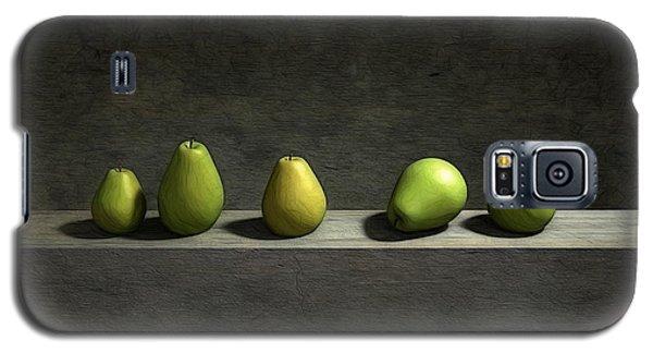 Five Pears Galaxy S5 Case by Cynthia Decker