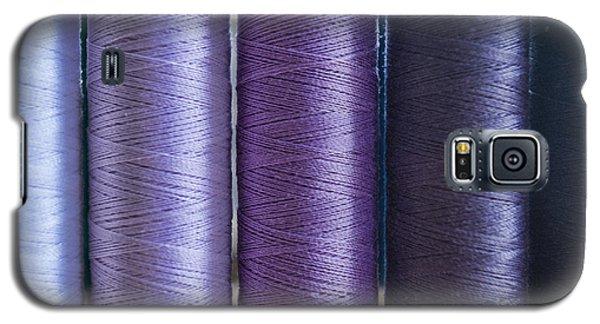 Five Times Purple Galaxy S5 Case